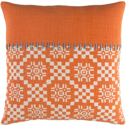 """Delray DEA-002 22"""" x 22"""" Pillow Shell with Polyester Insert"""