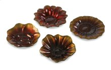 Blooms Glass Bowls - Set of 4