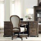 Belmeade - Executive Desk - Old World Oak Finish Product Image