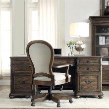 Belmeade - Executive Desk - Old World Oak Finish