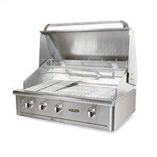 "40"" grill built-in + rotisserie system + 2 lights + 1 Infrared + 2 SS Precision burner"