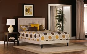 Becker Full Bed Set - Cream Fabric