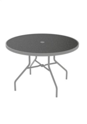 "Raduno 42"" Round HPL Umbrella Dining Table"