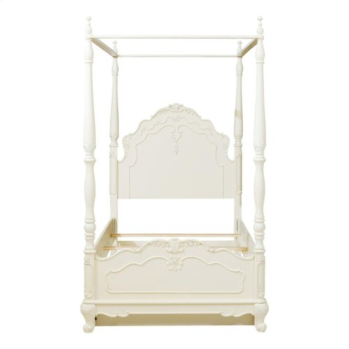 Twin Canopy Poster Bed