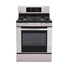 5.4 cu. ft. Capacity Gas Single Oven Range with 4 Burners