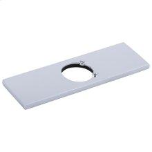 Chrome Escutcheon w/ Gasket - 3 Hole Lavatory