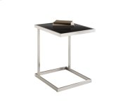 Nicola TV Table - Stainless Steel Product Image