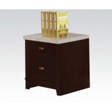Cabinet W/white Marble Top