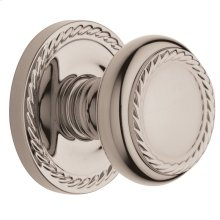Polished Nickel with Lifetime Finish 5064 Estate Knob