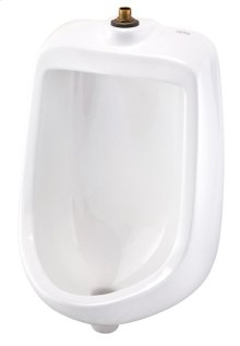 White North Point 0.5 Gpf Washout Top Spud Urinal