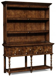 Tudor Style Dark Oak Welsh Dresser