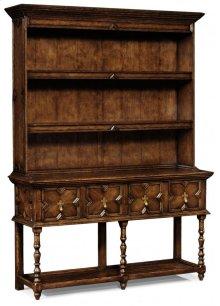 Tudor Style Dark Oak Welsh Dresser
