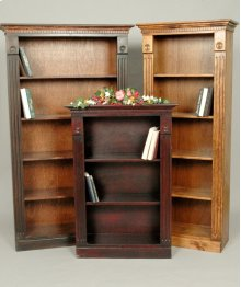 "#006 Large Colonial Bookcase 42""wx14.5""dx74""h"