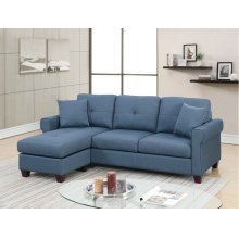 F6573 / Cat.19.p2- 2PCS SECTIONAL BLUE