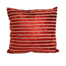 Liander Red Stripe Pillow