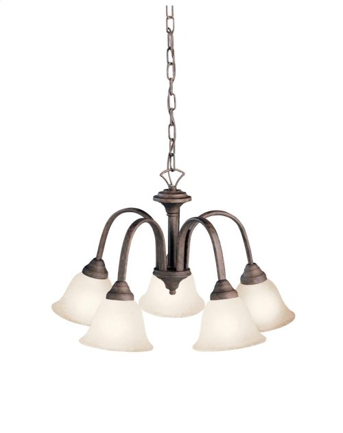 Hastings Collection Hastings 5 Light Chandelier - Tannery Bronze