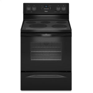 WHIRLPOOL5.3 Cu. Ft. Freestanding Electric Range with High-Heat Self-Cleaning System