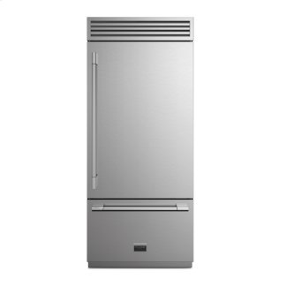 "36"" Sofia Pro Fridge - Right Door - stainless Steel"