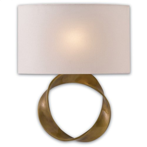 Chancey Brass Wall Sconce