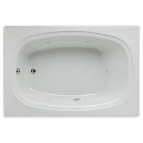 """Easy-Clean High Gloss Acrylic Surface, Rectangular, Whirlpool Bathtub, 48"""" X 72"""""""