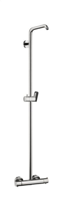 Chrome Showerpipe without Shower Components