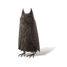 Metal Hoot Owl, Lg