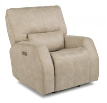 Cooper Fabric Power Gliding Recliner with Power Headrest