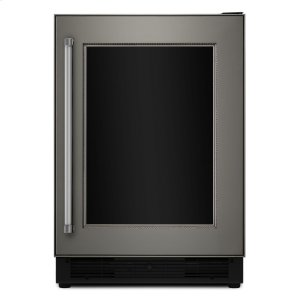 "Kitchenaid24"" Panel Ready Beverage Center with Glass Door"