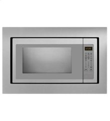 "30"" Microwave Trim Kit - Black-on-Stainless"