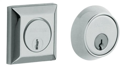 Polished Chrome Squared Deadbolt