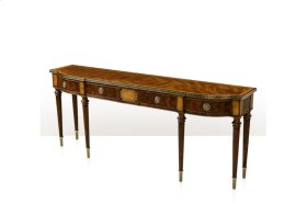 Brook's Reeded Console Table - Reeded Feet