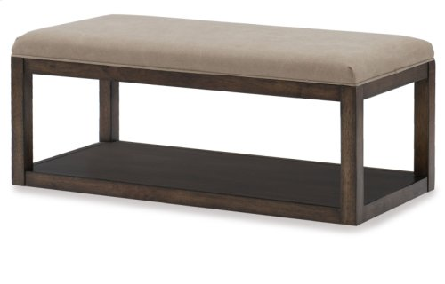 Sawyers Mill Upholstered Bench