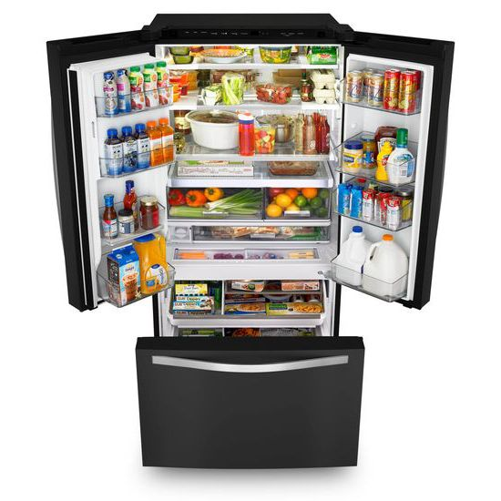 Genial WHIRLPOOL Whirlpool(r) 36 Inch Wide French Door Refrigerator With Infinity  Slide Shelf