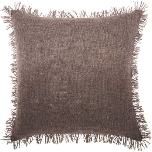 """Life Styles Md201 Charcoal 20"""" X 20"""" Throw Pillows"""
