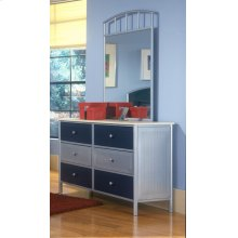 Brayden Dresser Silver and Navy