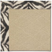 Creative Concepts-Cane Wicker Tigress Zinc Machine Tufted Rugs