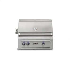 "Viking30""W. Built-in Grill w ProSear Burner and Rotisserie, Propane Gas"