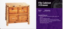 File Cabinet - 4 Drawer