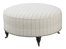 Round Cocktail Ottoman-stripe #colinta Flint