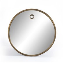 Tudor Round Mirror