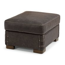Lomax Leather Ottoman
