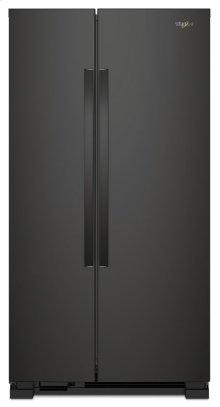 33-inch Wide Side-by-Side Refrigerator - 22 cu. ft.