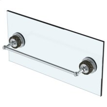 "6"" Shower Door Pull/ Glass Mount Towel Bar"