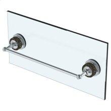"""6"""" Shower Door Pull/ Glass Mount Towel Bar"""