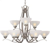 Contour 9-Light Chandelier