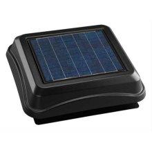 Surface Mount, Solar Powered Attic Ventilator in Black