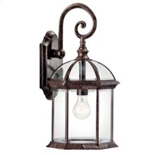 """Barrie 18.75"""" 1 Light Wall Light with LED Bulb Tannery Bronze"""