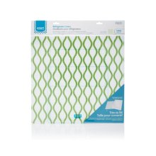 Smart Choice Trim-to-Fit Refrigerator Liner, Green Waves 2 Pack