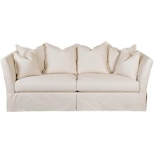 Two Cushion Sofas, Slipcover
