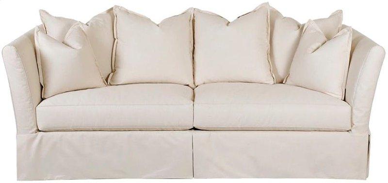 Two Cushion Sofas Slipcover